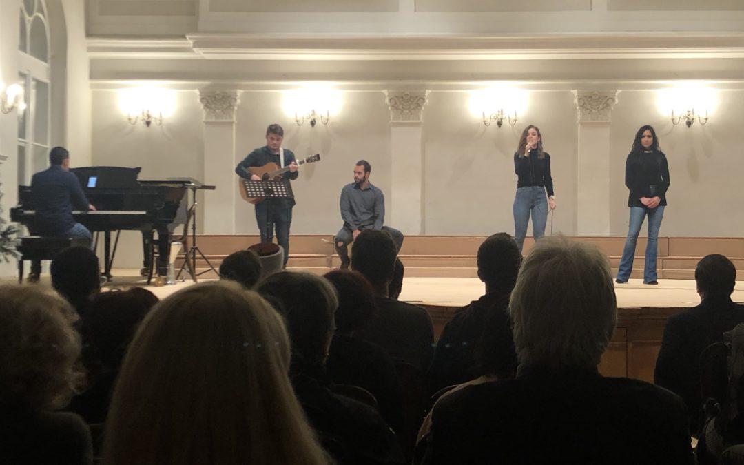 Međureligijski koncert u Hrvatskom glazbenom zavodu u Zagrebu