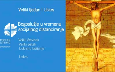 Bogoslužje u vremenu socijalnog distanciranja tijekom Uskrsnog trodnevlja